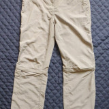 Pantaloni outdoor Jack Wolfskin Travel, detasabili; marime L (42); ca noi - Pantaloni dama, Marime: L, Culoare: Din imagine