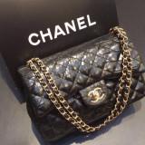 Geanta Dama Chanel, Geanta de umar, Bumbac - GENTI CHANEL JUMBO printed leather 2016 COLLECTION
