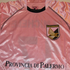 TrIcou fotbal - USC PALERMO (Italia) - produs oficial nr.7 DI MICHELE - Tricou echipa fotbal, De club, Maneca scurta