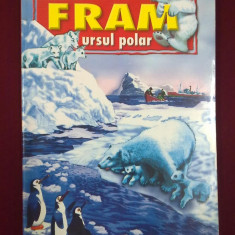 Carte de povesti - Cezar Petrescu - Fram, ursul polar - 556844