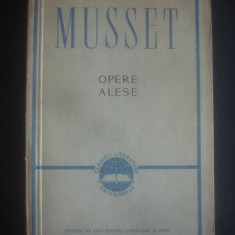 ALFRED DE MUSSET - OPERE ALESE - Roman