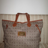 Geanta dama mare gri Louis Vuitton+CADOU