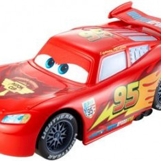 Masinuta Cars Wheelie Action Racers Lightning Mcqueen - Masinuta electrica copii Mattel