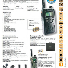 Statie emisie receptie Midland Alan 450 ( 2 buc) - Statie radio