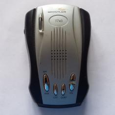 Whistler DE-1743 Radar Detector, Functioneaza . - Detector radar