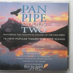Free The Spirit – Pan Pipe Moods Two _ CD, UK - Muzica Chillout Altele