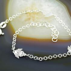 Bratara argint - Bratara din Argint 925, cu model Ingeras, cod 491