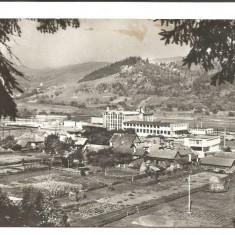 @carte postala(ilustrata)-CAMPULUNG MOLDOVENESC-Fabrica de lapte praf Raraul - Carte Postala Moldova dupa 1918, Circulata, Fotografie