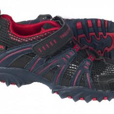 Pantofi copii Trespass Buga Fire - Adidasi copii Trespass, Baieti, Piele sintetica