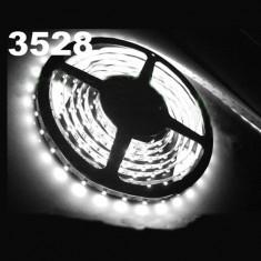 Banda LED 1M 100cm SMD 3528 Alb Pur/Alb Cald/Albastru / Rosu / Galben / Verde - Led auto EuropeAsia, Universal