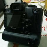 Canon EOS 400D DSLR, impecabil, grip, accesorii, schimb cu Iphone 6/6S Plus - DSLR Canon