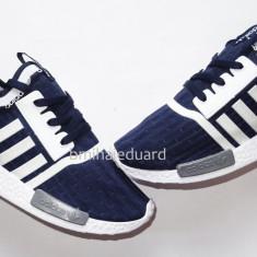 Adidasi barbati, Textil - ADIDASI ADIDAS NMD RUNNER INDIGO/ALB