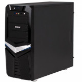 "CARCASA Spacer Warrior, Gaming, ATX Mid-Tower, Front 1xUSB3.0 1xUSB2.0+Audio, (Black), ""SPC-WARRIOR"""