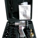 Trusa Scule-KRAFTECH-Pistol Pneumatic-1/2-310 Nm+Tubulare(9-27mm)