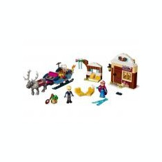 Anna si Kristoff si aventura lor cu sania - LEGO Disney Princess