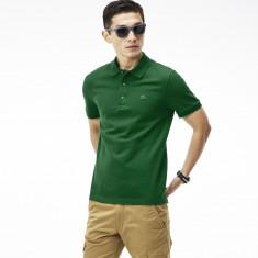 Tricou barbati - Tricou barbatesc Lacoste Slim Fit Verde