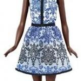 Papusa Mattel Barbie Fashionista Doll In Blue Brocade