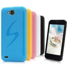 Husa telefon - Husa de protectie din silicon S series, diverse culori, compatibila Allview P5 Quad