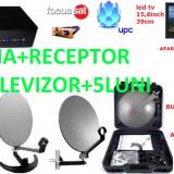 ANTENA CAMION/RULOTA Focus CU LED TV si satfinder