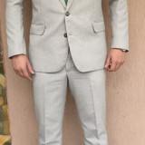Costum barbati - Costum C & A ORIGINAL Barbati. Marimea M! slim fit. + cravata cadou.