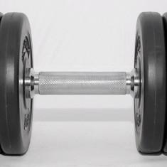 Gantere/Haltere - Gantera reglabila 10 kg - discuri cu ciment -