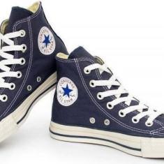 Tenisi/Bascheti Converse All Star- Albastru - Tenisi barbati Converse, Textil