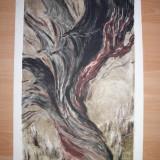 Tablou, Abstract, Cerneala, Abstract - MARCEL CHIRNOAGA, MONOTIP- SCHIMBAREA / EXEMPLAR UNIC