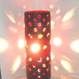 Lampa ceramica smaltuita 100% hand made - design Albert Jansson - Nykyrka Sweden