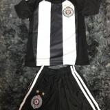 Echipament fotbal/compleu copii Partizan Belgrad (tricou + sort)REDUCERE DE PRET - Set echipament fotbal, Marime: One size