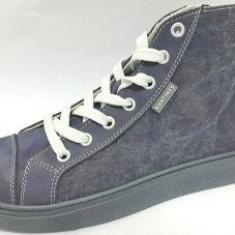 Pantofi barbati - BASCHETI FEMEI-PIELE VITEL- MATERIAL TEXTIL & PIELE BIT BONTIMES-VIOLETTA
