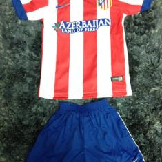 Set echipament fotbal - Echipament complet fotbal copii / compleu Nike Atletico Madrid (tricou + sort)