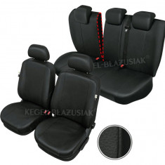 Huse scaune auto imitatie piele Audi Q3 set huse fata + spate - Husa Auto