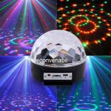 Glob Disco Jocuri de Lumini cu MP3 Player si Telecomanda