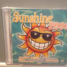 SUNSHINE 2000 - Various Artists - 2cd set - nou/sigilat (2000/BMG REC/GERMANY) - Muzica Dance ariola