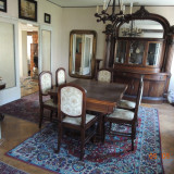 Mobila veche de sufragerie anul 1920
