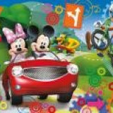 Puzzle 104 Piese 3D Mickey Mouse - 20605