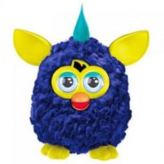 Surpriza Kinder - Jucaria Furby - interactioneaza cu telefoane IOS si Android - culoare mov cu galben