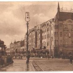 Bilet meci - Belgrad 1910 - hotel Moscova