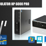 Calculator HP 6000 PRO SFF, Core2Duo E5500 2.9GHz, 4GB DDR3, 160GB, DVD-RW - Sisteme desktop fara monitor HP, Intel Core 2 Duo, 2501-3000Mhz, 100-199 GB, LGA775