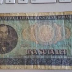 Bancnote vechi romanesti una suta lei