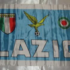 Steag fotbal - LAZIO ROMA (dimensiuni 71 x 44 cm)