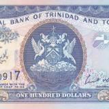 bancnota america, An: 2006 - Bancnota Trinidad & Tobago 100 Dolari 2006 - P51 UNC