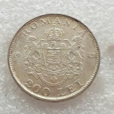 Monede Romania, An: 1942, Argint - 200 LEI 1942-ARGINT-REGELE MIHAI
