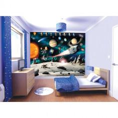 Tapet pentru Copii Space Adventures - Decoratiuni petreceri copii