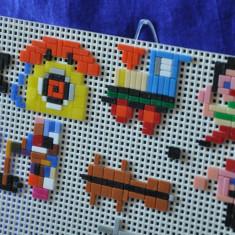 Joc de creaţie anii 80-90. Joc tip LEGO. Ministeck - Jocuri Seturi constructie