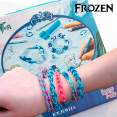 Benzi din Cauciuc de Făcut Brăţări cu Mărgele Frozen - Fire bijuterii