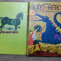 Stories of gods and heroes - mituri si legende/ ilustratii Art Seiden