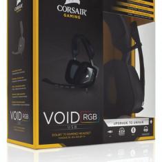 Casti Corsair Gaming Void, 7.1, cu microfon, negre - Casti PC