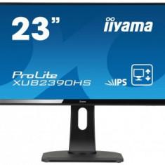 Monitor LED Iiyama Prolite XUB2390HS-B1, 23 inch, 1920 x 1080 Full HD, negru