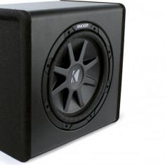 Boxe auto Kicker PECVR12 Substation subwoofer activ plug&play; Subwoofer CompVR 12''; Amplificator 400W; Incinta ventilata - Subwoofer auto